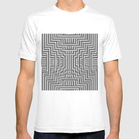 Optiek. Mens Fitted Tee White SMALL