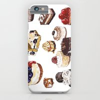 iPhone & iPod Case featuring Cheesecake by heatherinasuitcase