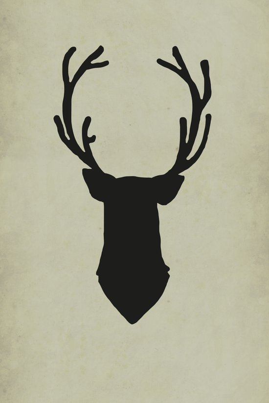 Le cerf my deer. Art Print