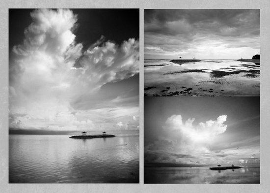 Bali x 3 Canvas Print