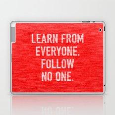 Learn from Everyone Laptop & iPad Skin