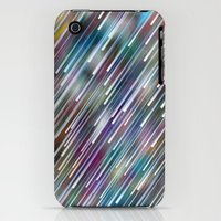 iPhone 3Gs & iPhone 3G Cases featuring Like Neon Rain by Angelo Cerantola