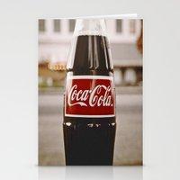 Roadside Coke Stationery Cards