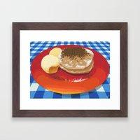 Pancakes Week 15 Framed Art Print