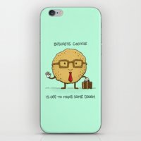 The Business Cookie iPhone & iPod Skin