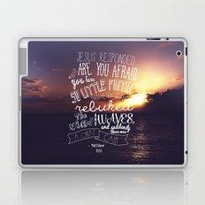 so little faith Laptop & iPad Skin