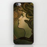 Medusa Nouveau iPhone & iPod Skin