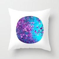 Purple Tree XXIII Throw Pillow