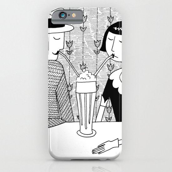 They shared a chocolate shake and some dreams iPhone & iPod Case
