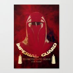 Imperial Guard Canvas Print