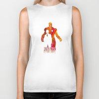 Iron Man Biker Tank