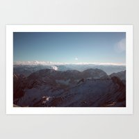 Alps Mountain Germany Color Photography Nature Art Print