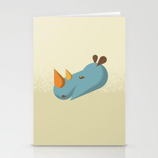 Rhino Stationery Card