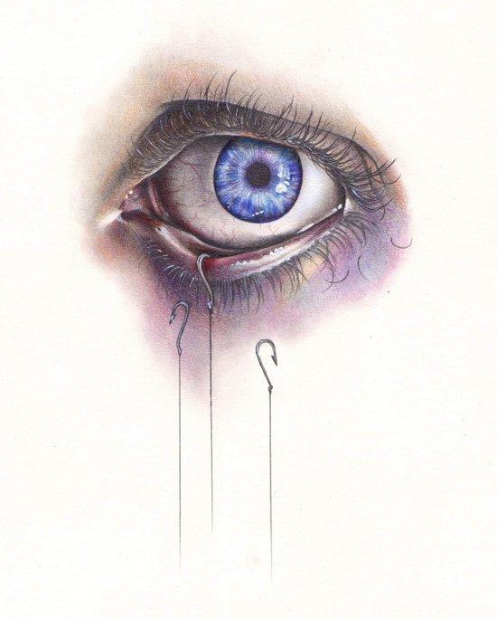 You Caught My Eye Art Print
