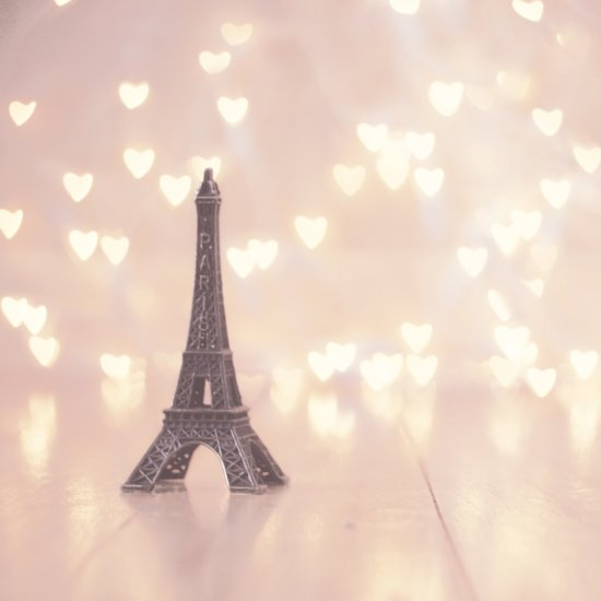 Left my heart in paris Art Print