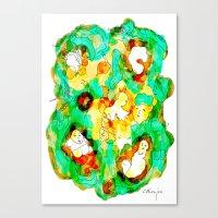 Verde Que Te Quiero Verd… Canvas Print
