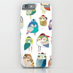 Owls, owl art, owl print, illustration, pattern,  Slim Case iPhone 6s
