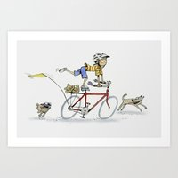 I want to Ride It the Way I Like Art Print