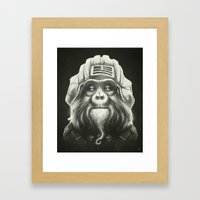 Commander Framed Art Print