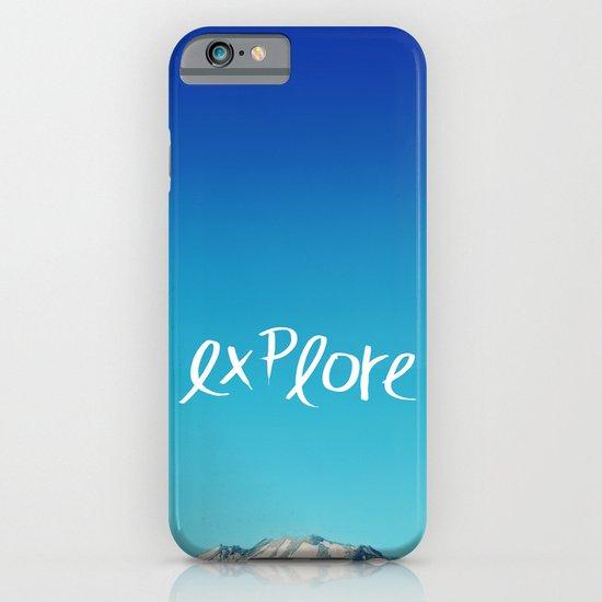 Explore: Mountain iPhone & iPod Case