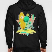 Alien Surfer Nineties Pattern Hoody