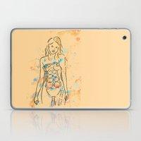 Grenade Girl Laptop & iPad Skin