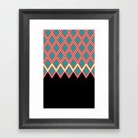 GlamourII Framed Art Print