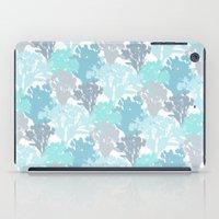 Acer Bouquets - Blues iPad Case