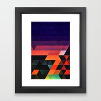 Sww Fyr Framed Art Print