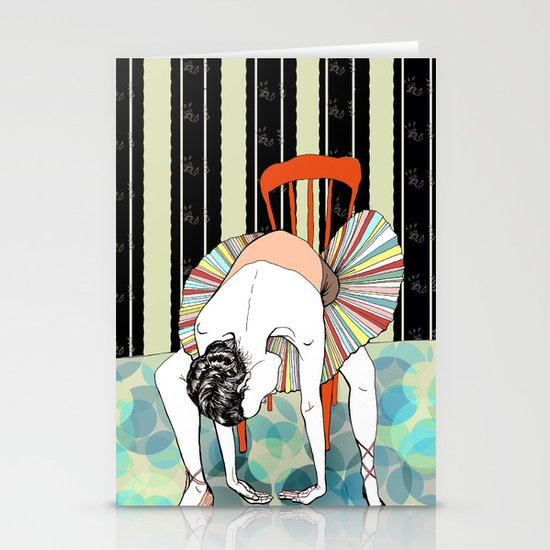 I'm So Tired Stationery Card