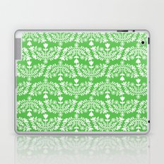 Folk Pattern Green Laptop & iPad Skin