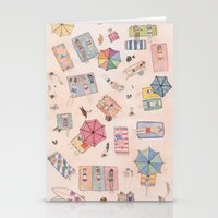 Beach Stationery Cards
