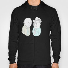 News Reporters Staring Contest Hoody