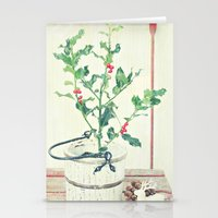 Holly Stationery Cards