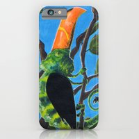 iPhone & iPod Case featuring Tukameleon by Gioele Fusaro