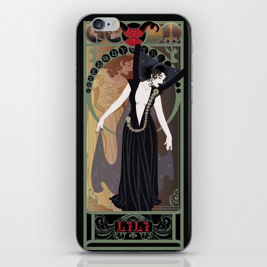 Dark Lili Nouveau - Legend iPhone & iPod Skin