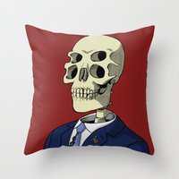 Universal Candidate Throw Pillow