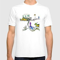 Shopping On Alpha BIX Mens Fitted Tee White SMALL