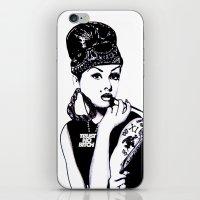 Audrey Hepburn. Rebel: Chola. iPhone & iPod Skin