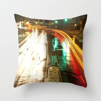 Blur Throw Pillow