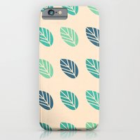 Leaf Value Pattern iPhone 6 Slim Case