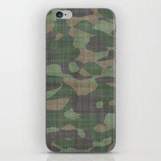 Camouflage Nature iPhone & iPod Skin
