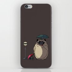 PUGTORO iPhone & iPod Skin