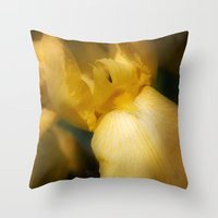 The Enticing Flame Throw Pillow