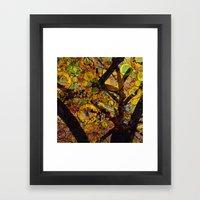 Tree of Prosperity Framed Art Print