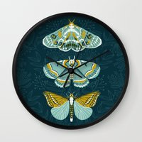 Lepidoptery No. 8 By And… Wall Clock