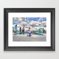 The Boy and The Dome Framed Art Print