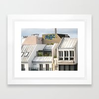 Rooftops Of Paris 1 Framed Art Print