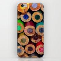 Colored Pencils Part II iPhone & iPod Skin