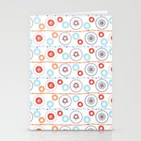 Kaleidoscope Stripes Stationery Cards